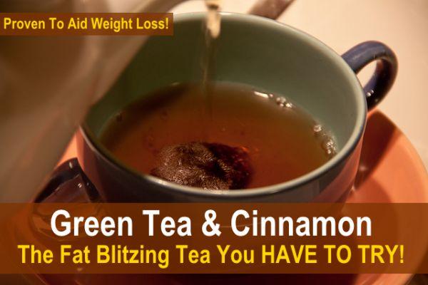 Green Tea & Cinnamon – Fat Blitzing Tea Recipe