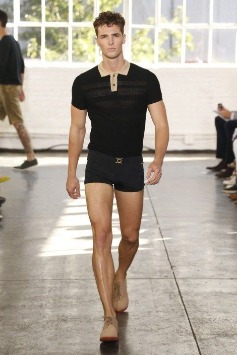Designers Parke Lutter and Ronen Jehezkel unveiled their Spring/Summer 2014 collection for Parke & Ronen during New York Fashion Week, featuring pastel shades, casual ready-to-wear looks and beachwear designs throughout the collection.