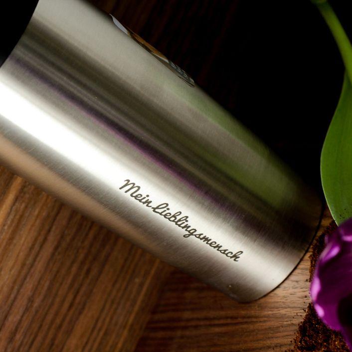 EMSA Thermobecher, Kaffee #coffee #coffeelovers #timeforcoffee #kaffee #kaffeeprodukte #goodmorning #coffeetime #typegoodies #buongiorno #signuu #thermobecher #lasergravur #gift #gravur