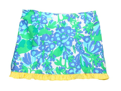 Lilly Pulitzer Kids Mini Callie Scooter Skort (Toddler/Little Kids/Big Kids) Resort White Bee In Your Bonnet - 6pm.com