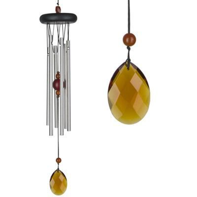 Amber Wind Chime From Woodstock - http://www.incensearomatherapy.co.uk/collections/wind-chimes-mobiles-hangers/products/amber-wind-chime-from-woodstock