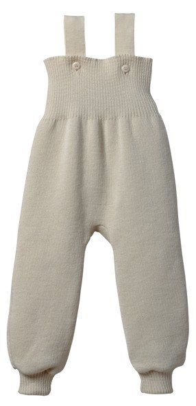 Disana Organic Merino Wool knitted baby dungarees / trousers (7 colour – Special Little Shop