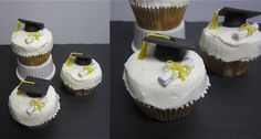 Tutorial Doktorhut-Cupcakes