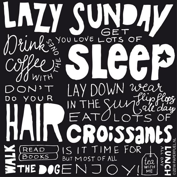 Superb Lazy Sunday, Mmmm Love It!