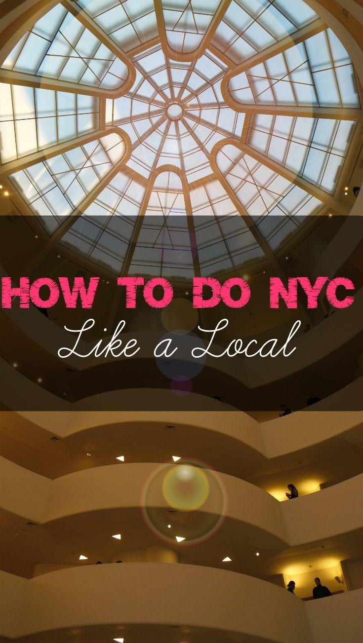 Tips from a Local: How To Explore New York City | CulturalXplorer.com