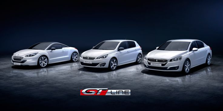 Discover the new #GTLine with an assertive style available for #Peugeot508 and then for #Peugeot308 and #PeugeotRCZ