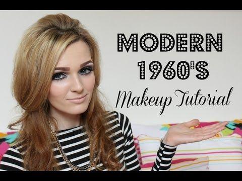 Modern 1960's Makeup Tutorial