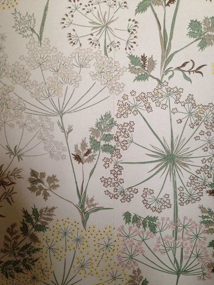 Beautiful wallpaper prints at Scotney Castle. To read more about our visit go to www.denysandfielding.co.uk/blogs/news