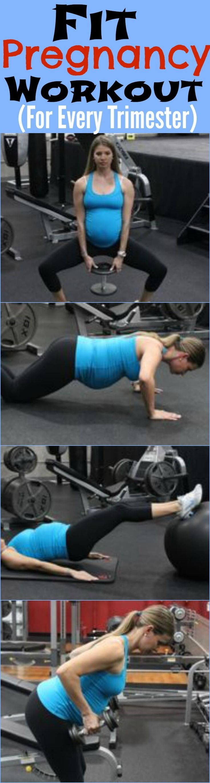 Fit Pregnancy Workout For Every Trimester