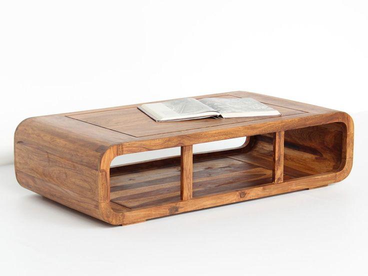 GI-2381N: Couchtisch 100*60 Tisch Massivholz Wohnzimmer Palisander Lounge Stil
