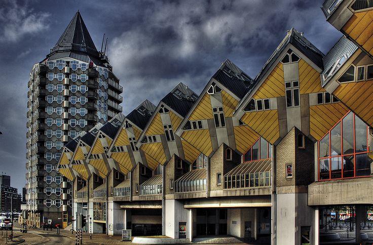 Rotterdam: kubuswoningen