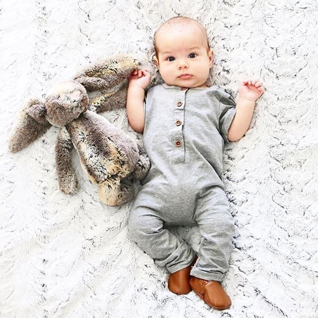 The cuteness is unreal, adorable as ever is our Basic Button Romper || Limited sizes and quantities left, don't miss out! Shop now LittleBipsy.com . . . #littlebipsy #littles #love #baby #babygirl #babyboy #babyshower #babybump #babylove #babyshop #babys  #momlife #newborn #igers #igbabies #blessed #pregnant #pregnancy #mommy #shopsmall #momtobe #instagood #cute #newmom #babylove #monday
