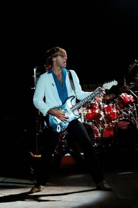 RUSH Signals Tour Concert Pictures Roberts Stadium - Evansville, Indiana October 31st, 1982