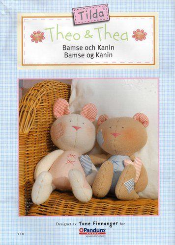 Bamse Och Kanin Pattern