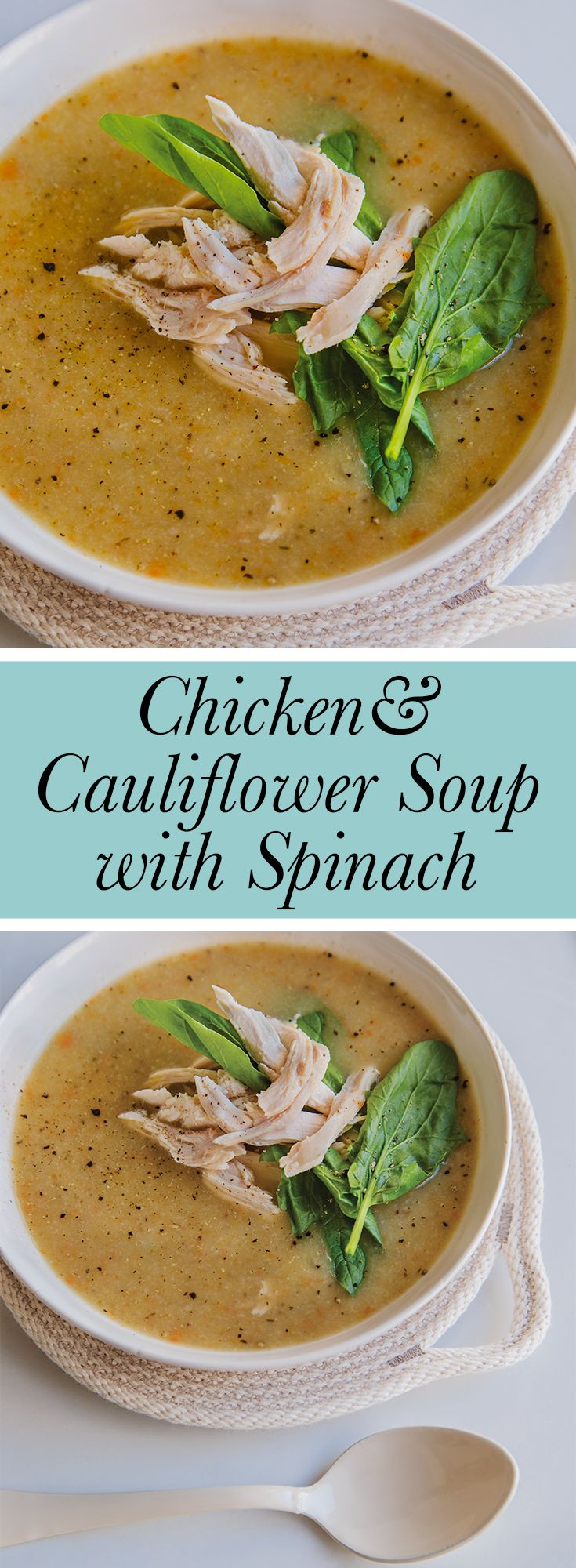 So good and creamy, without any cream! A healthy soup for a weeknight or for lunch!