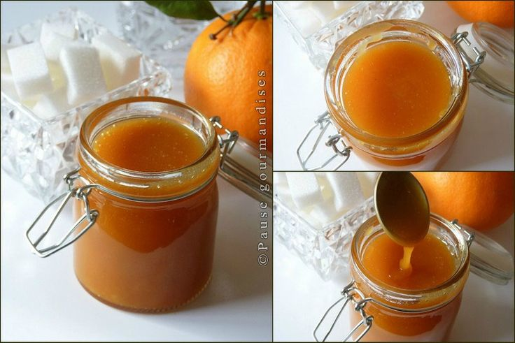 caramel à l'orange