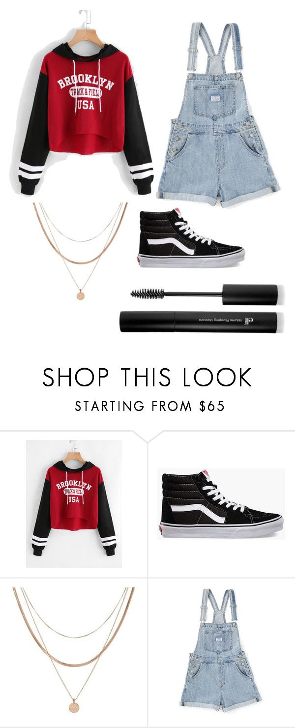 New School by joreese on Polyvore featuring Vans, Luv Aj and Forever 21