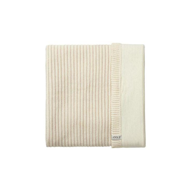 Pletená deka Joolz Essentials Ribbed - Off White - Deky | Babytrend.sk