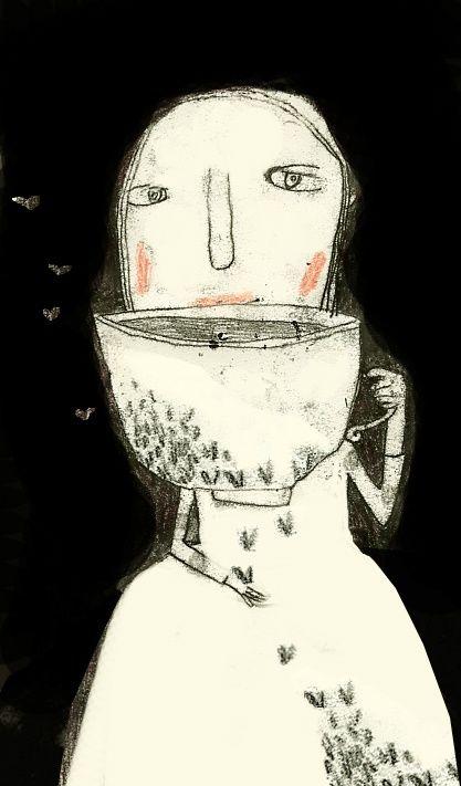Manon Gauthier: Manon Gauthier, Butterflies, Tea Art, Manongauthier Illustrations, Artistic Inspirational, Http Manongauthier Tumblr Com, Art Musics Film, Art Artists Links