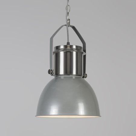 Lampa wisząca Industrial 27 szara #stylskandynawski #nowoczesnelampy #lampyindustrialne