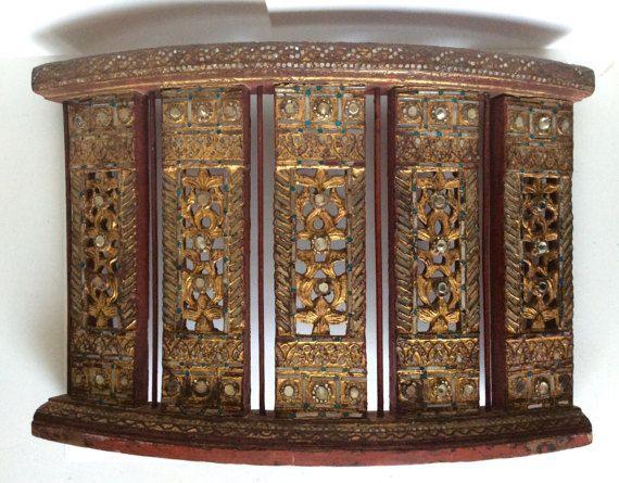 Antique door. Indian reclaimed door. Indian by SouthofFranceFinds