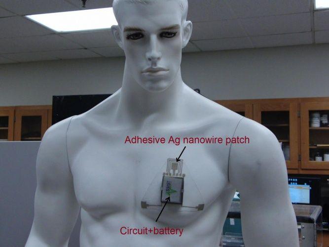 GENIO Italiano Giuseppe Cotellessa: Wearable sensor measures skin hydration / Sensore ...