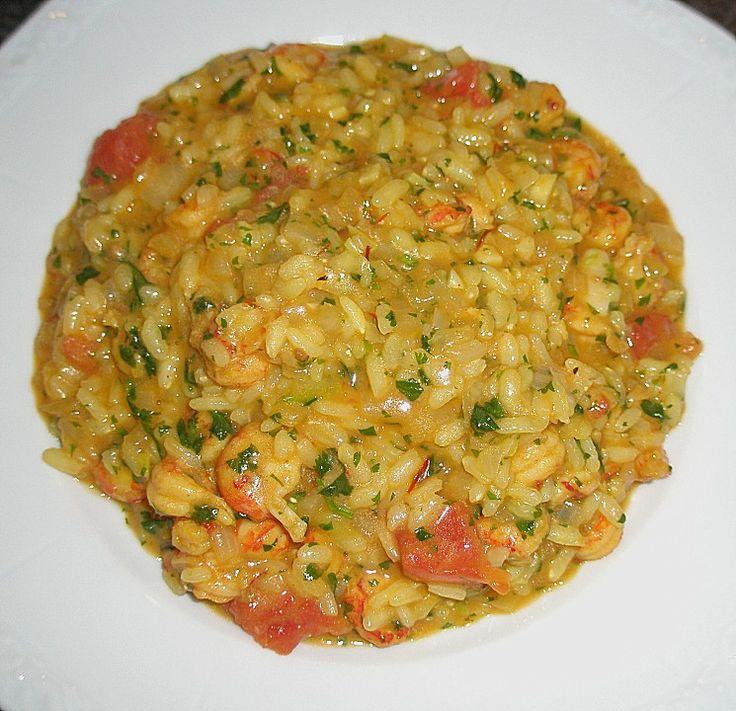 Scampi - Risotto (Rezept mit Bild) von Wienerin | Chefkoch.de (Food Recipes Shrimp)