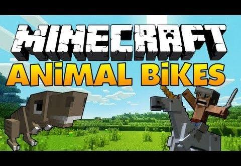 Bike Mod Minecraft 1.7.10 Animal Bikes Mod