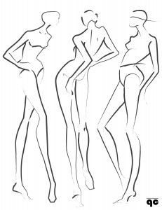 fashion poses illustration - Google Search