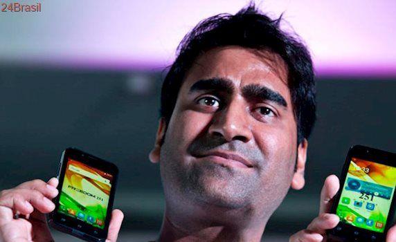 """Criador do Freedom 251, o smartphone """"mais barato do mundo"""", é processado por fraude"""