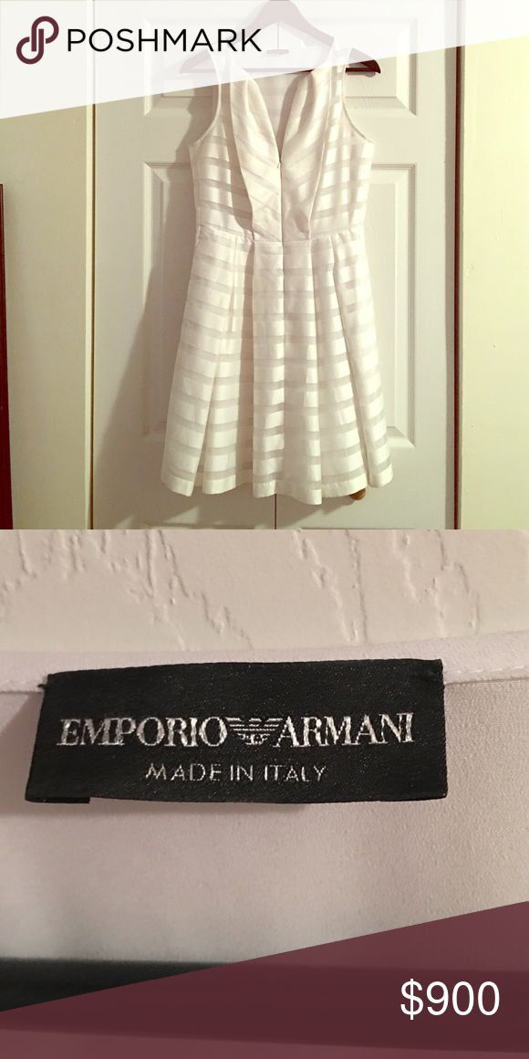 Emporio Armani dress This is a beautiful Emporio Armani dress off the runway worn once!!!!! Absolutely gorgeous and perfect condition! Emporio Armani Dresses Maxi