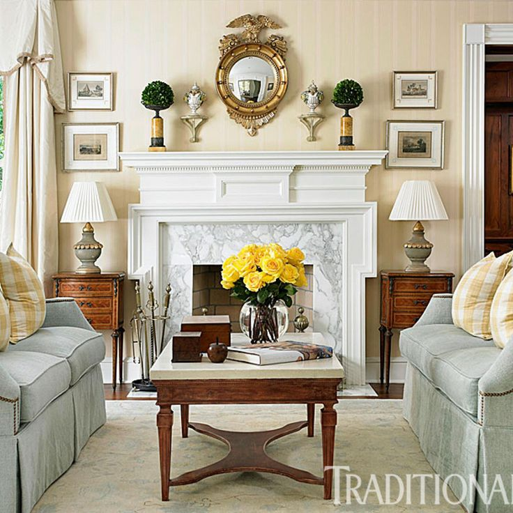 beautiful traditional living rooms. Connecticut Classic  Get the Polished Look 572 best Living Rooms images on Pinterest Live Family rooms