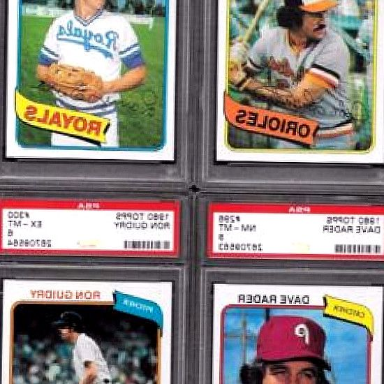 Find great deals on sports-collectible.bid for 1980 Topps PSA 10 in Baseball Cards. 1980 TOPPS *PSA 10* TEAM CARD LOT (3) GIANTS, DODGERS, TWINS. If other arrangements are not made, an Unpaid Item Dispute will be filed  the item will. Card has been graded a10 GEM MINT by Professional Sports Authenticator (PSA). 1972 Topps Baseball Graded Lot Of 8 Different Psa. Burger King Mike Schmidt Hof Baseball Card 1980 Topps  6 Vintage Psa 7 Nm Graded.. 2017 Topps  349 Tyler Glasnow RC PSA 10 - Gem…