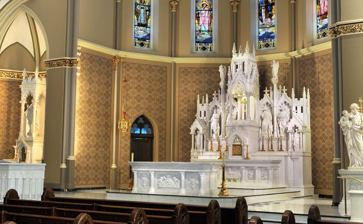 Our Lady of Mt. Carmel Church, Chicago – JNKA Architects