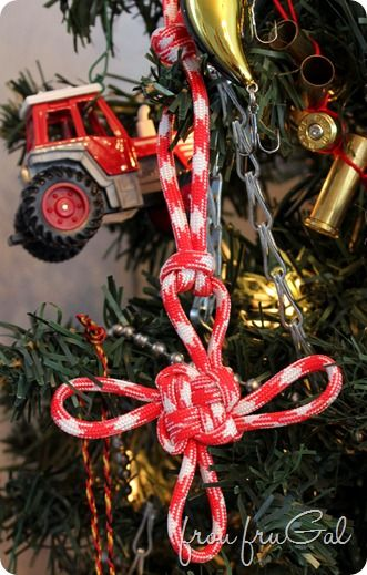 frou fruGAL: Man Tree Good Luck Ornament