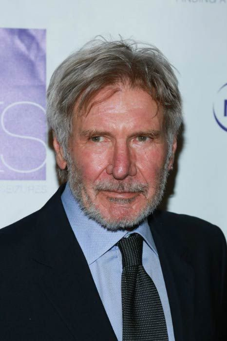 Harrison Ford at the FACES Gala in March 2016...