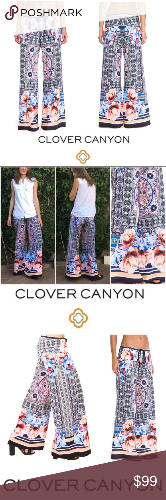 Clover Canyon Byzantine Scarf Print Pants Details to come. Or google search. Clover Canyon Pants Wide Leg
