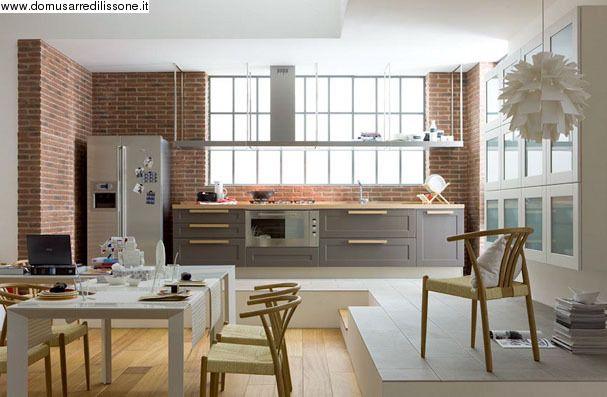 Maniglie arredamento ~ Veneta cucine anta telaio con maniglia arredamento cucina