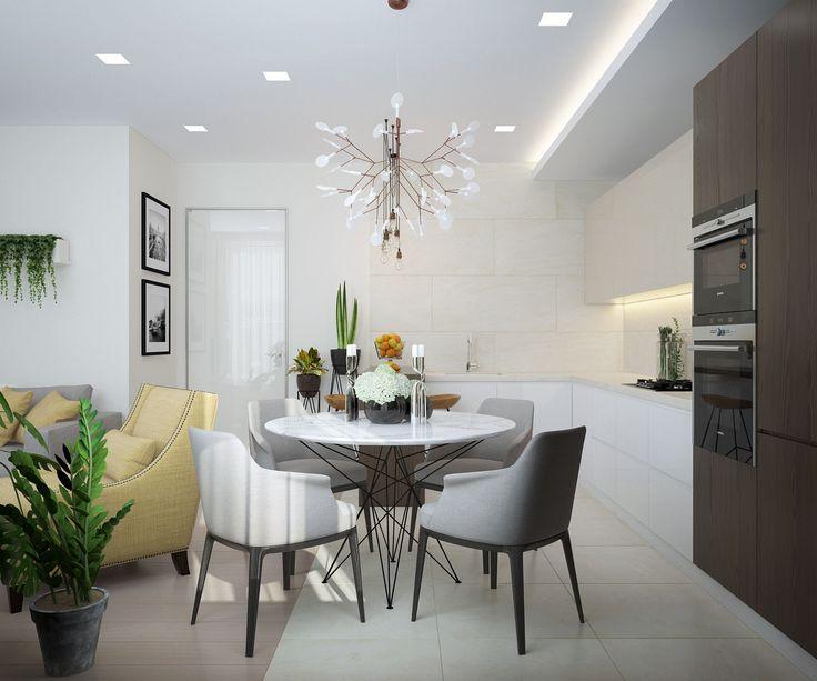 Фото из проекта: Экостиль в новой квартире