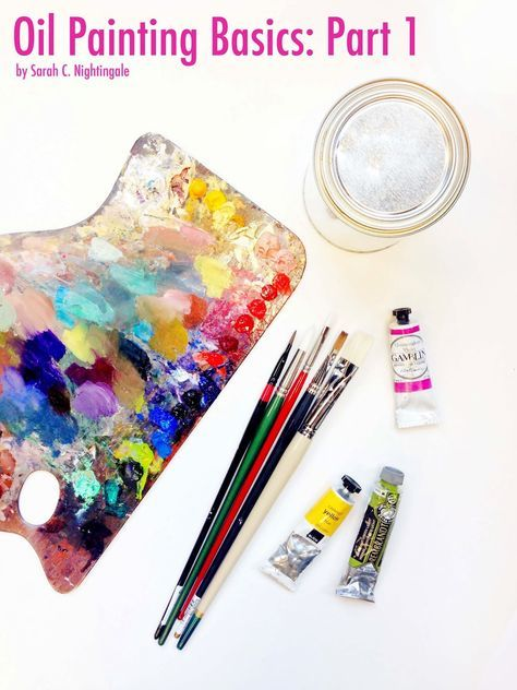 Oil painting basics: Oil painting for beginners   Part 1: Supplies