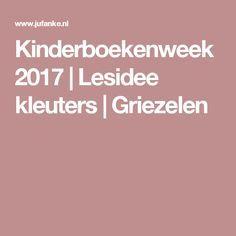 Kinderboekenweek 2017 | Lesidee kleuters | Griezelen