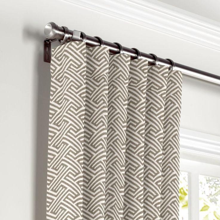Geometric Jacquard Modern Curtains Simple Design Living: 25+ Best Ideas About Geometric Curtains On Pinterest