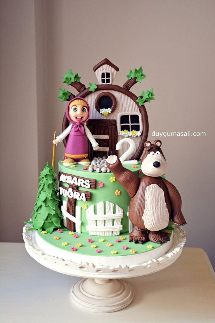 Maşa ile Koca Ayı butikpasta! duygumasali.com #duygumasali #edirne #edirnepasta #edirnebutikpasta #sekerhamuru #cupcakes #mashaandthebear #mashaandthebearcake #cartooncupcake #butikpasta #fondantcupcakes #handmade #cake #2thbirthday #dogumgunupastasi #pasta #foodpics #delicious #yummy #amazing