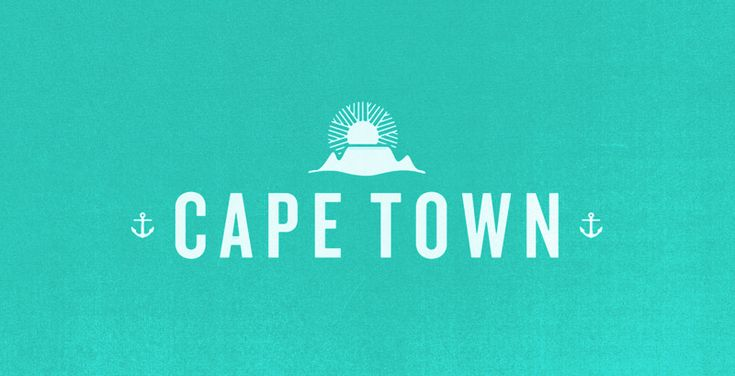 Typography - Cape Town