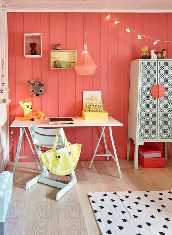6 Colourful Kids' Rooms Full of Personality http://petitandsmall.com/6-colourful-kids-rooms/