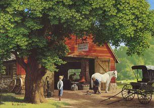 'Horse and Buggy Days' by Paul Detlefsen
