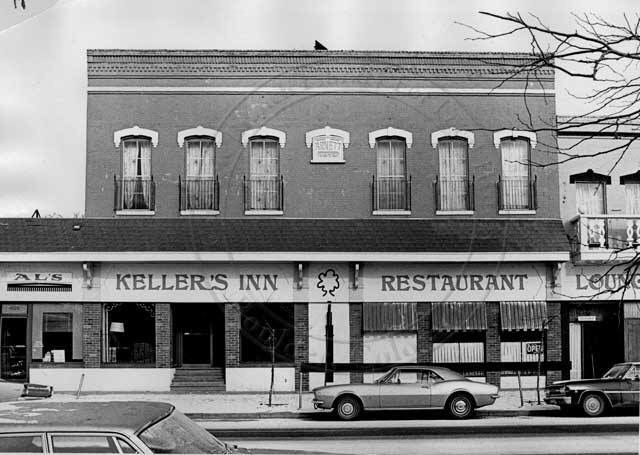 Kellers Inn Restaurant And Lounge At 1027 Pearl St Later To Become