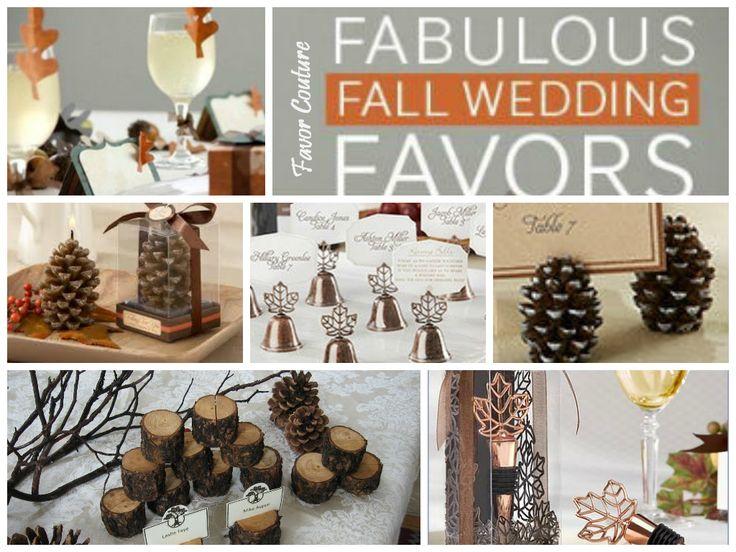 205 best Fall Wedding Favors images on Pinterest Fall wedding