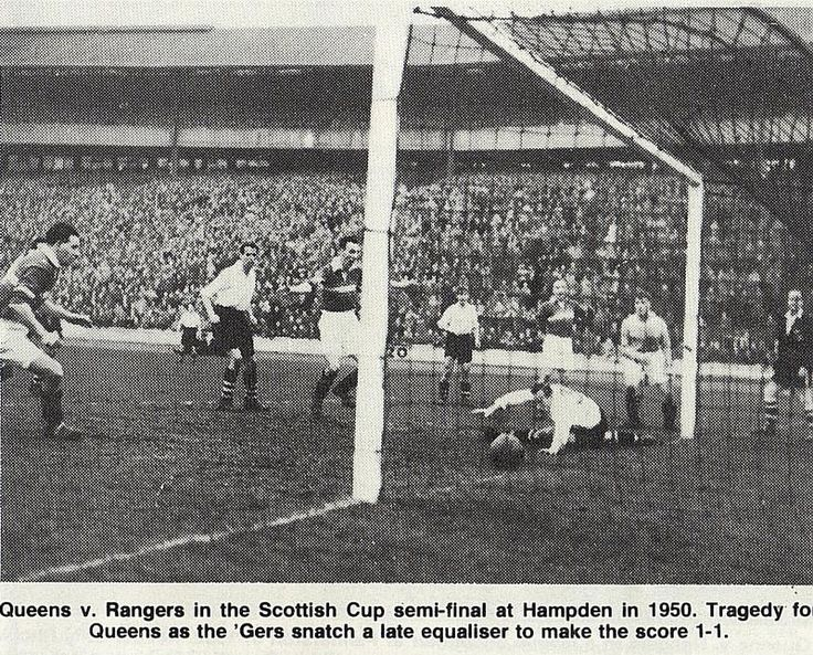 Rangers v Queens Park scottish cup 1960