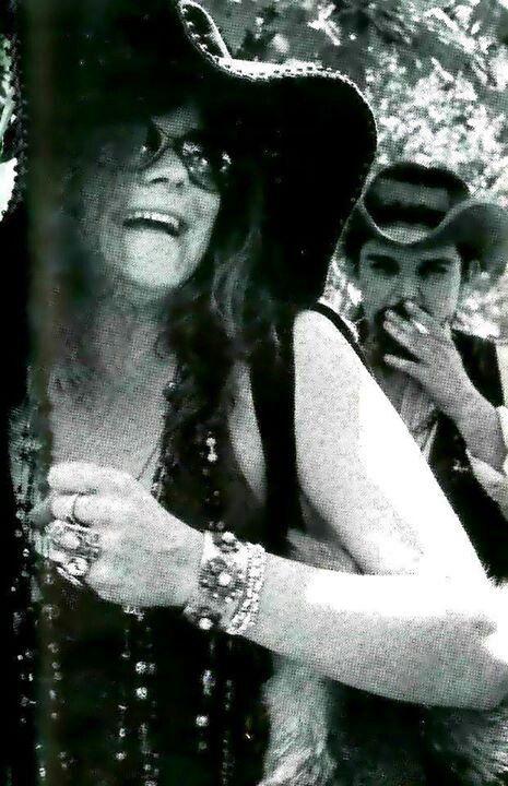 Janis Joplin and Pigpen McKernan, founding member and frontman of Grateful Dead.
